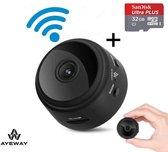 Verborgen Wifi Camera Met App – AyeWay® - 4K - Draadloos – Nederlandse Handleiding - Incl. Gratis 32 GB micro SD