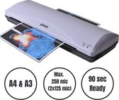 ProOffice Lamineerapparaat - Lamineermachine A3 - 250mm/min - 2 jaar garantie - Lamineer - Incl. gratis lamineerhoezen A4