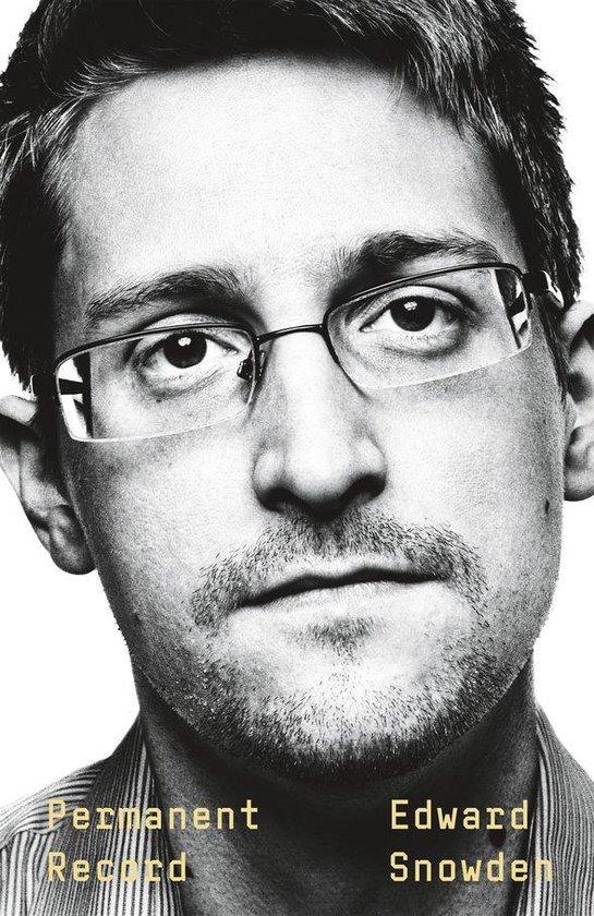 Boek cover Permanent Record van Edward Snowden (Onbekend)