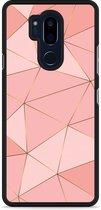 LG G7 Hardcase Hoesje Pink Art