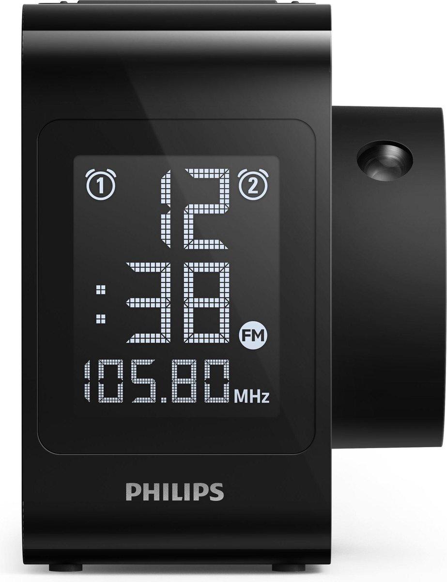 Philips AJ4800/12 Klok Digitaal Zwart radio