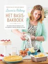 Boek cover Lauras bakery, het basisbakboek van Laura Kieft (Hardcover)