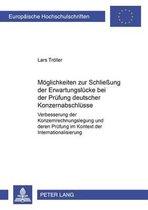 Moeglichkeiten Zur Schliessung Der Erwartungsluecke Bei Der Pruefung Deutscher Konzernabschluesse