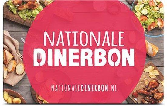 Nationale Dinerbon 25,-