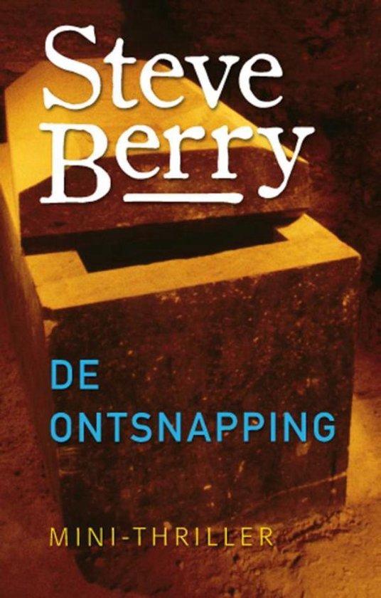 Boek cover De ontsnapping van Steve Berry (Onbekend)