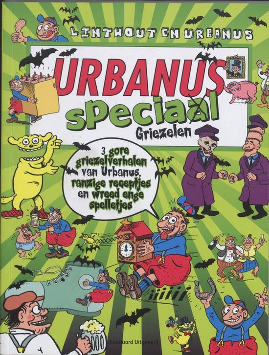 Urbanus Speciaal / Griezelen - Willy Linthout |