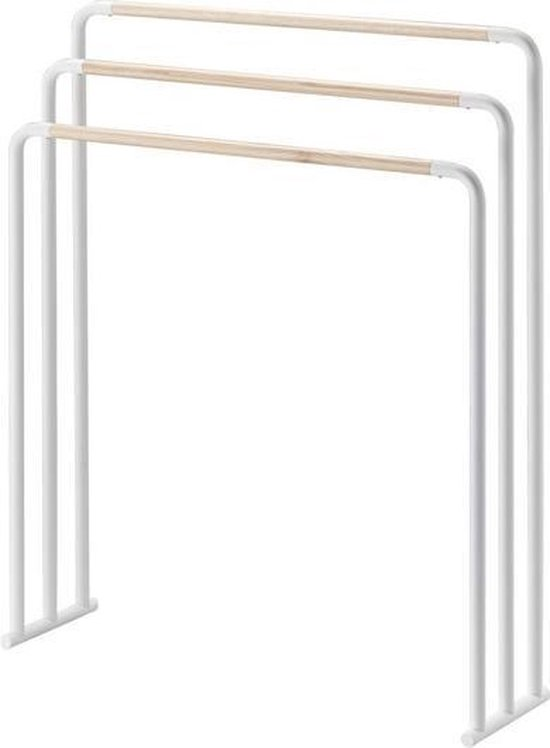 Yamazaki Bath towel hanger - plain - white