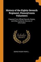 History of the Eighty-Seventh Regiment, Pennsylvania Volunteers