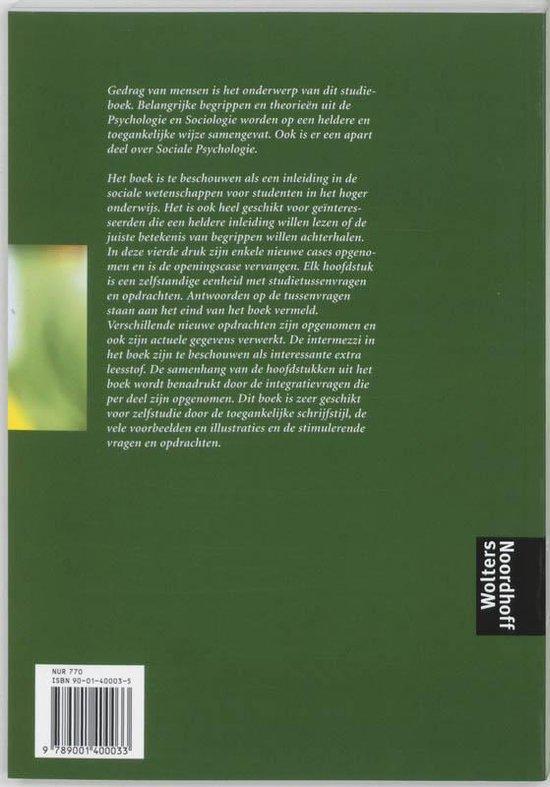 Psychologie & Sociologie - Ella Wijsman |