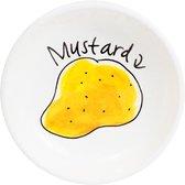 Blond Amsterdam Snack Schaaltje Mustard - Ø 8 cm