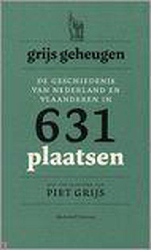 Cover van het boek 'Grijs geheugen, 631 plaatsen'
