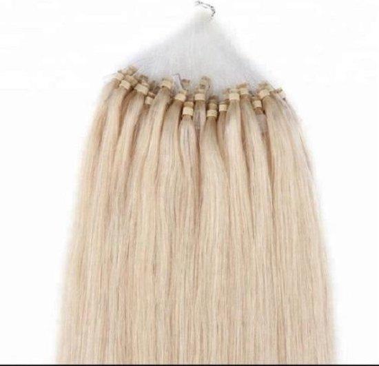 Kaise haarextension-Micro nano ring-Blond haar-Beauty haar-Echte mensen haar