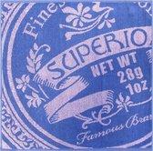 Jorzolino Superior Keukendoek (6 Stuks) - 50x50 cm - Blue