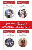 Omslag Harlequin Presents October 2018 - Box Set 2 of 2