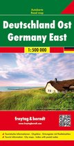 Germany East Road Map 1