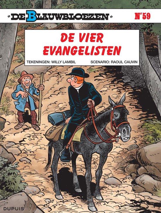 Blauwbloezen 59. de vier evangelisten - Willy Lambil |