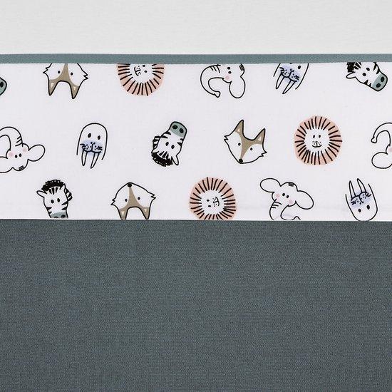 Meyco wieglaken Animal - 75 x 100 cm