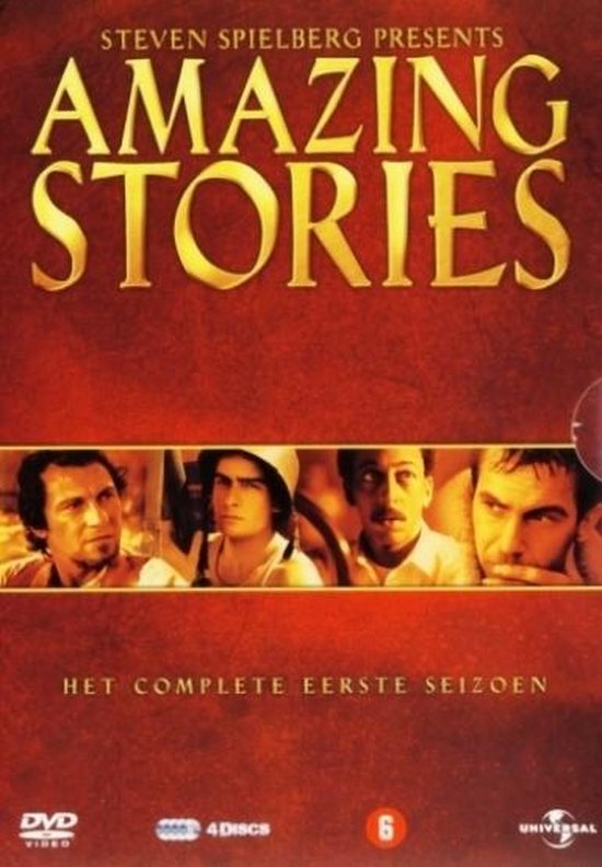 Cover van de film 'Amazing Stories'