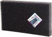 VT filterschuim grof zwart 100x50x2cm