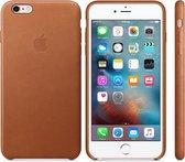 Apple Leren Hoesje voor iPhone 6/6s Plus - Cognac