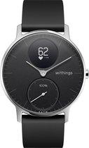 Withings Steel HR -  Hybride Smartwatch - Zwart - Ø 36mm