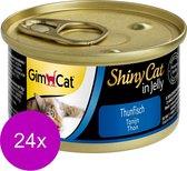 Shinycat Tonijn Kattenvoer - 70 gr - 24 stuks