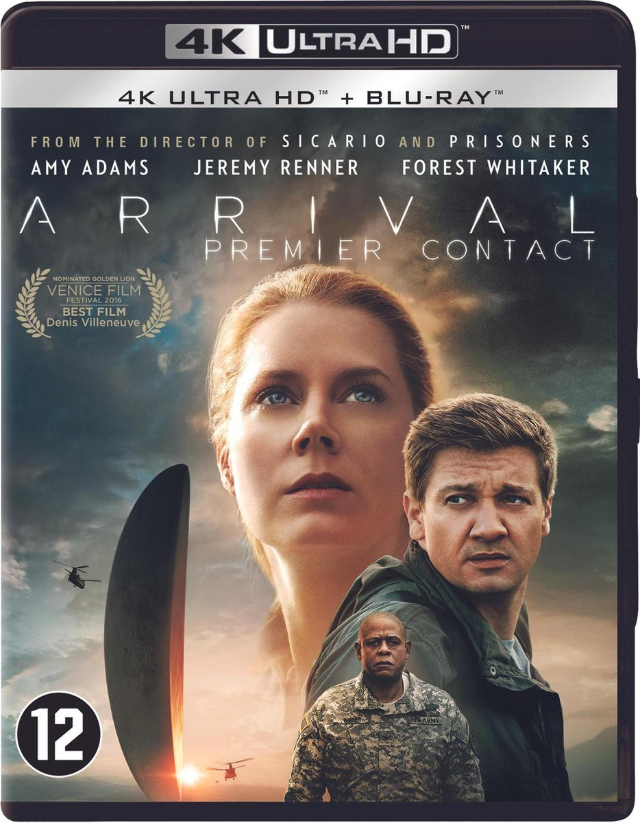Arrival (4K Ultra HD Blu-ray)-