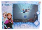 Disney Frozen LED Light Scene  Wandprojector + Transparant Stickervel