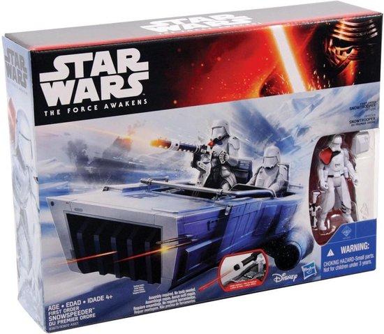 Thumbnail van een extra afbeelding van het spel Star Wars: The Force Awakens First Order Snowspeeder voertuig + Stormtrooper figuur