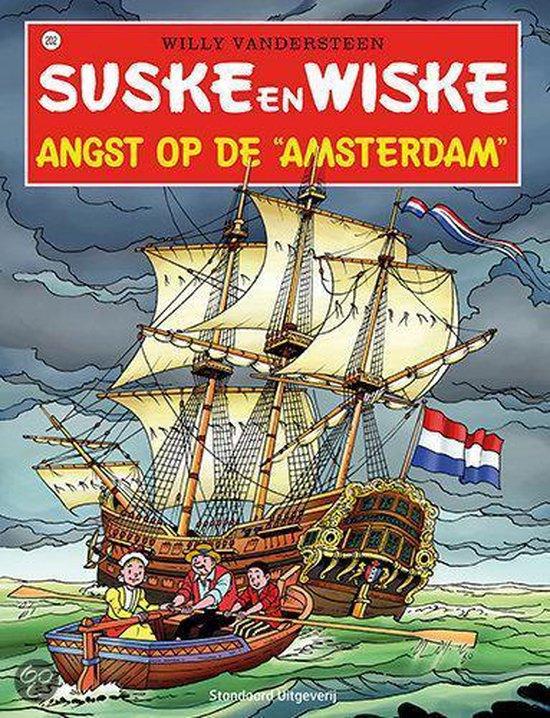 Suske en Wiske 202 - Angst op de Amsterdam - Willy Vandersteen |