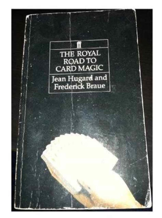 Boek cover The Royal Road to Card Magic van Jean Hugard (Paperback)