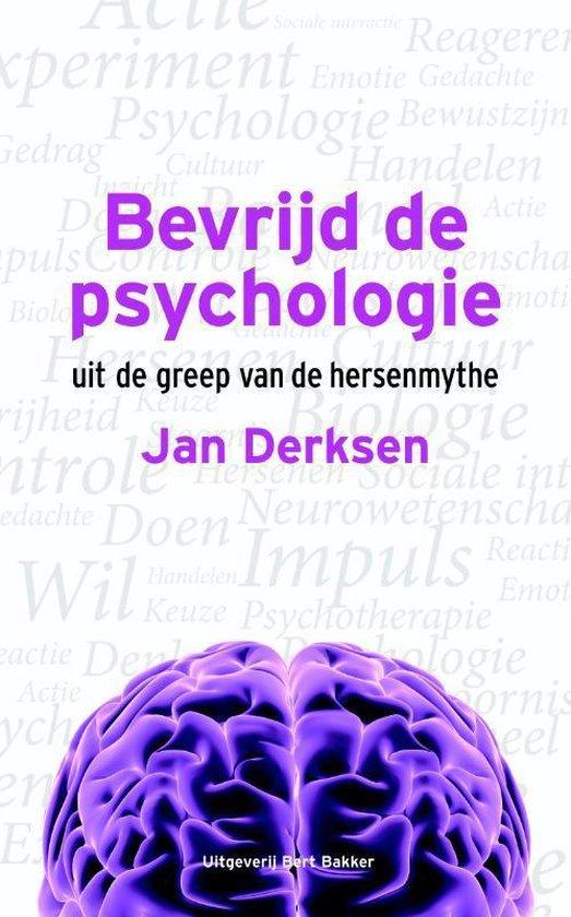 Boek cover Bevrijd de psychologie van Jan Derksen (Paperback)