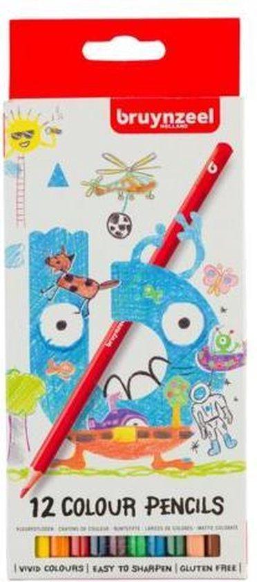 Afbeelding van Bruynzeel Kids 12 kleurpotloden