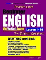 Preston Lee's Beginner English with Workbook Section Lesson 1 - 20 for Spanish Speakers