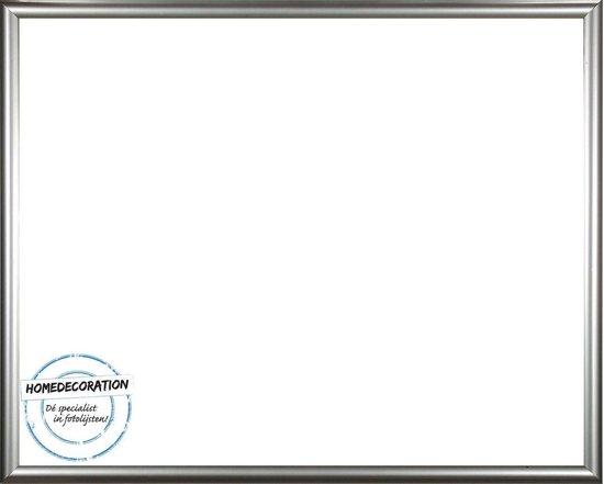 Homedecoration Biggy – Fotolijst – Fotomaat – 23 x 95 cm – Kunststof – Zilver