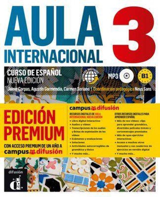 Aula Internacional 3 Libro del alumno + MP3 version Premium