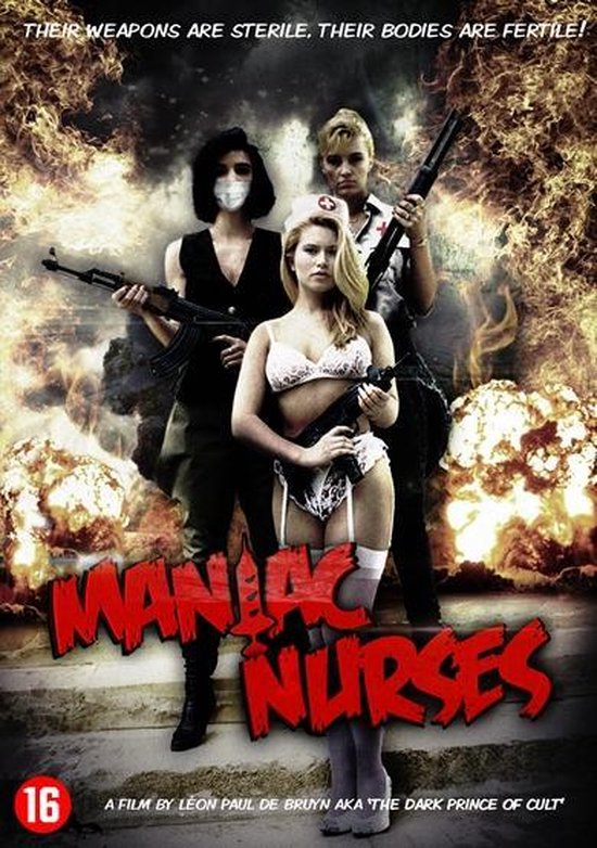 Cover van de film 'Maniac Nurses'