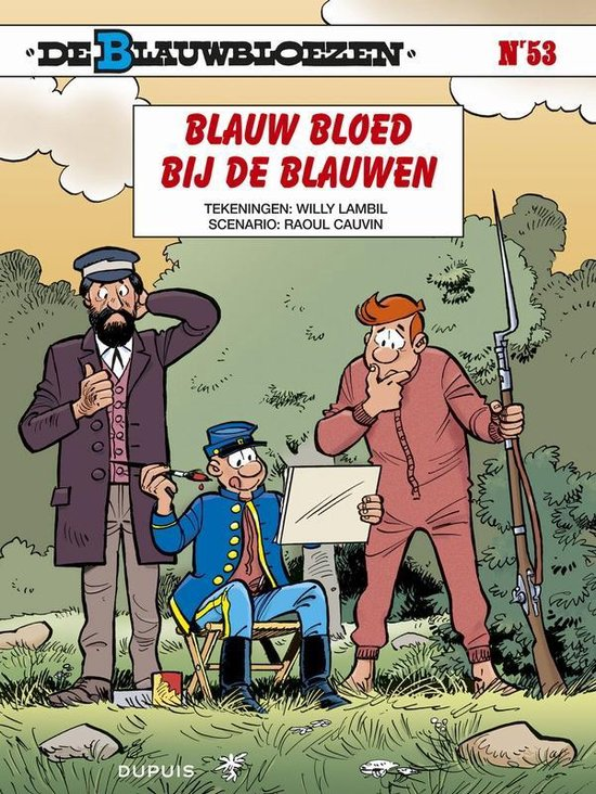 Blauwbloezen 53. blauw bloed bij de blauwen - Willy Lambil |