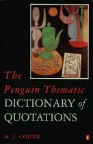 Boek cover The Penguin Thematic Dictionary of Quotations van