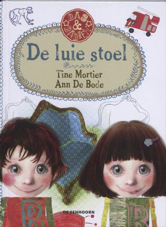 Cover van het boek 'De luie stoel' van T. Mortier