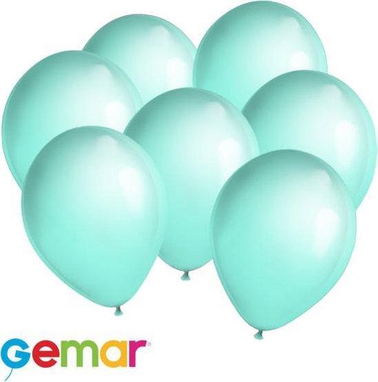 30x ballonnen Mint groen (Ook geschikt voor Helium)