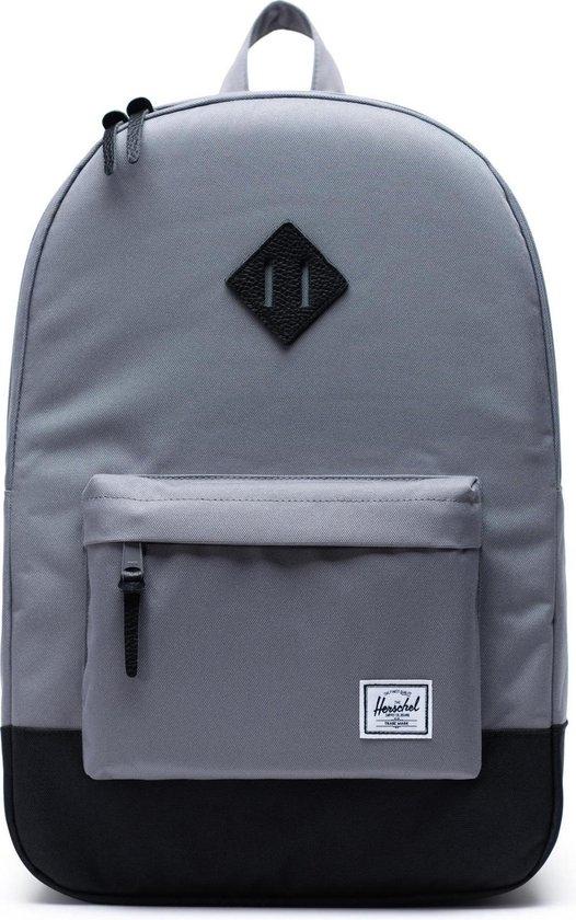 Herschel Supply Co. Heritage Rugzak 21,5L - Grey / Black