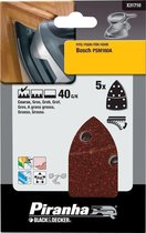 Piranha Schuurstroken Bosch PSM, 40K 5 stuks X31710