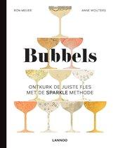 Boekomslag van 'Bubbels. Ontkurk de juiste fles met de sparkle methode'
