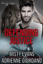 Omslag Defending Justice