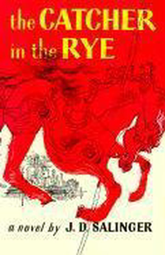 Boek cover Catcher in the Rye van j. d. salinger (Paperback)