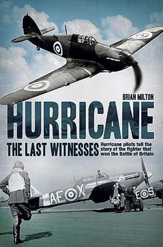Boek cover Hurricane van Brian Milton (Hardcover)