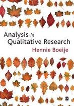 Afbeelding van Analysis in Qualitative Research