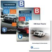 Autotheorieboek Rijbewijs B met Oefenboek en Samenvatting CBR Auto Theorie Leren Rijbewijs B 2020