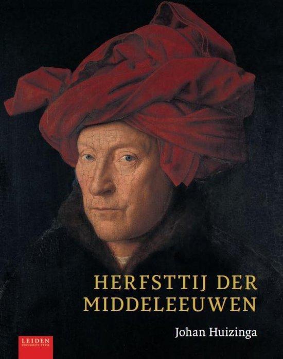 Boek cover Herfsttij der Middeleeuwen van Johan Huizinga (Hardcover)